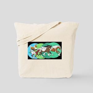 Rhythm and Rainbows Tote Bag
