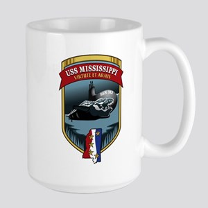 USS Mississippi SSN 782 Large Mug