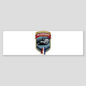 USS Mississippi SSN 782 Sticker (Bumper)