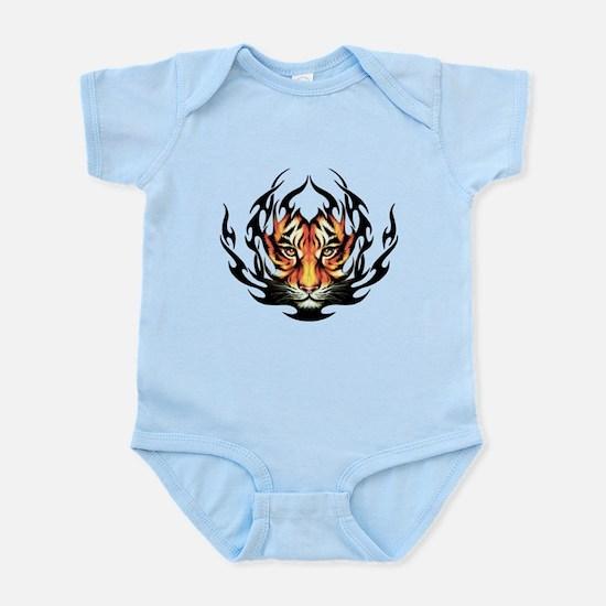 Tribal Flame Tiger Infant Bodysuit