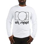 Camera, Oh Snap! Long Sleeve T-Shirt