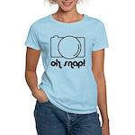 Camera, Oh Snap! Women's Light T-Shirt