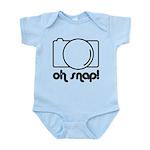 Camera, Oh Snap! Infant Bodysuit