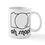 Camera, Oh Snap! Mug