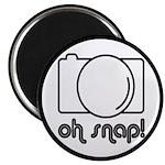 Camera, Oh Snap! Magnet