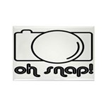 Camera, Oh Snap! Rectangle Magnet (10 pack)