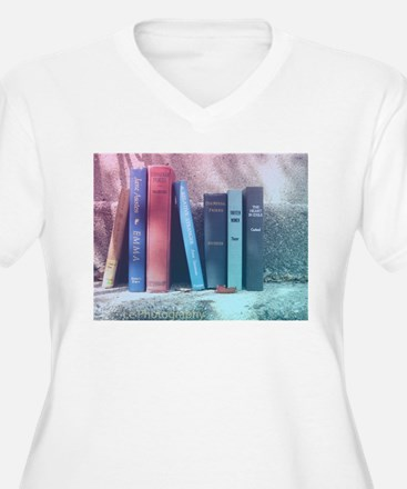 Staircase of Books T-Shirt