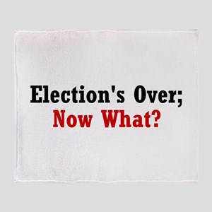 Election's Over; Now What? Throw Blanket