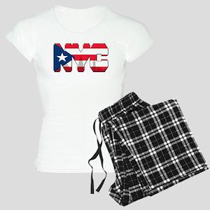 New York Puerto Rican Women's Light Pajamas