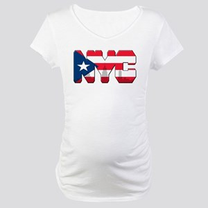 New York Puerto Rican Maternity T-Shirt