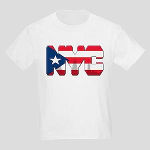 New York Puerto Rican Kids Light T-Shirt