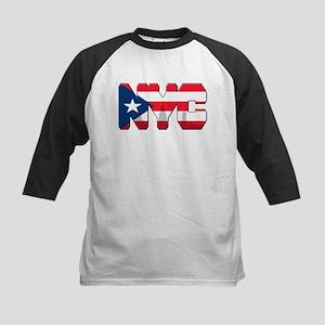 New York Puerto Rican Kids Baseball Jersey