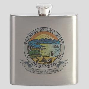 Alaska Seal Flask