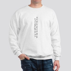 Reading Upside Down Sweatshirt