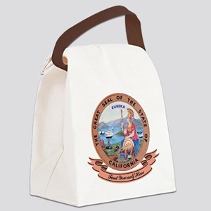 California Seal Canvas Lunch Bag