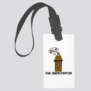 The Sermonator Large Luggage Tag