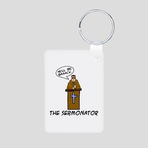 The Sermonator Aluminum Photo Keychain