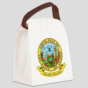 Idaho Seal Canvas Lunch Bag