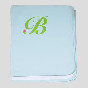 B baby blanket