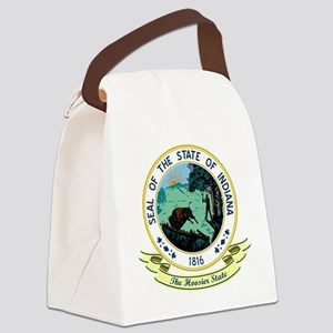 Indiana Seal Canvas Lunch Bag