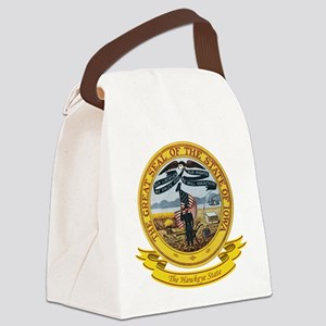 Iowa Seal Canvas Lunch Bag