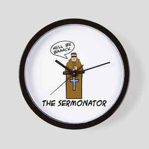 The Sermonator Wall Clock