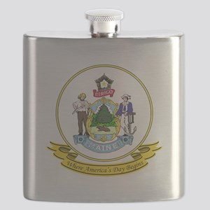 Maine Seal Flask