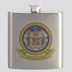Maryland Seal Flask