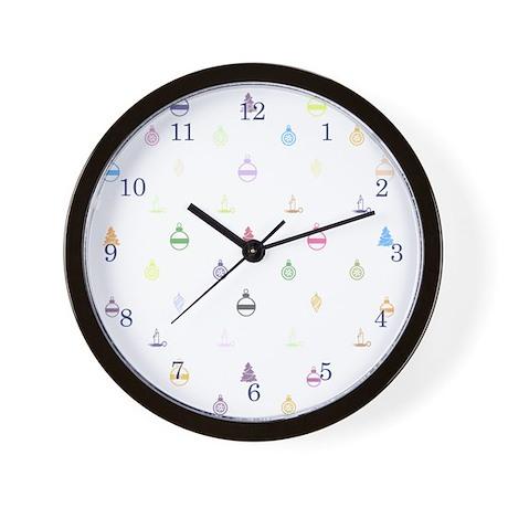 Designer Holiday Vuitton Wall Clock