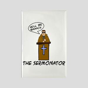 The Sermonator Rectangle Magnet