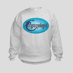 Cryptozoologist Kids Sweatshirt