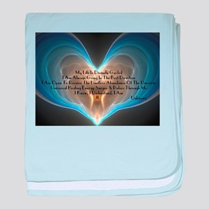 Divinely Guided Abundance baby blanket