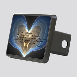 Divinely Guided Abundance Rectangular Hitch Cover