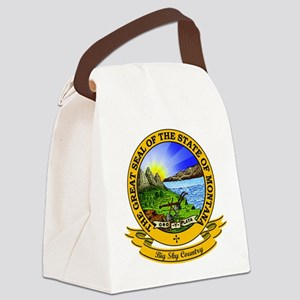 Montana Seal Canvas Lunch Bag