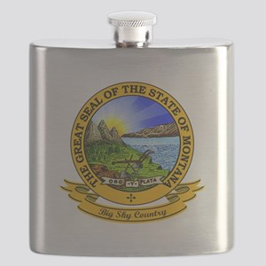 Montana Seal Flask