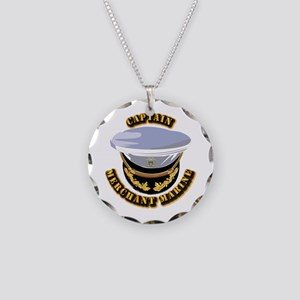 USMM - CPT Necklace Circle Charm