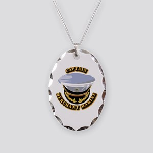 USMM - CPT Necklace Oval Charm