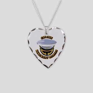 USMM - CPT Necklace Heart Charm