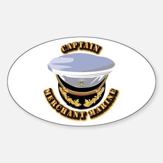 USMM - CPT Sticker (Oval)