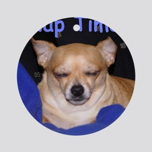 """Chihuahua """"Nap Time"""" Ornament (Round)"""