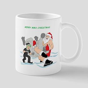MMA Santa Vs Snowmonster Mug