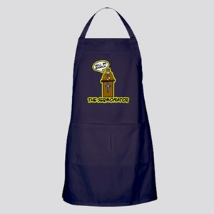 The Sermonator Apron (dark)
