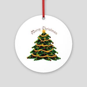 Christmas Tree Ornament (Round)