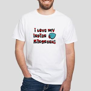 Anime Blue Indian Ringneck Parakeet T-Shirt