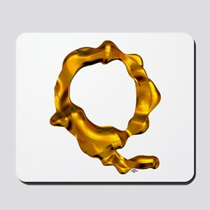 Blown Gold Q Mousepad