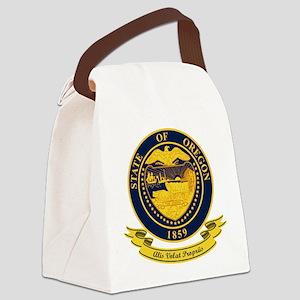 Oregon Seal Canvas Lunch Bag
