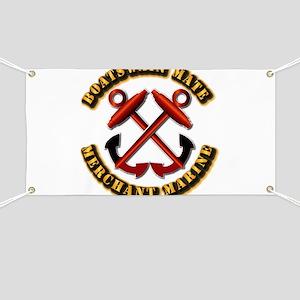USMM - Boatswain Mate Banner