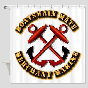 USMM - Boatswain Mate Shower Curtain