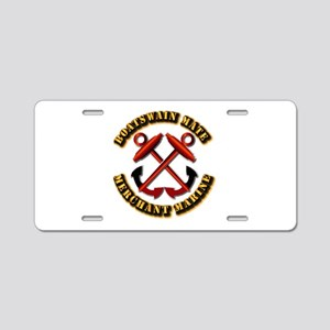 USMM - Boatswain Mate Aluminum License Plate