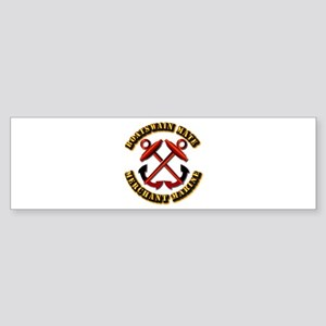 USMM - Boatswain Mate Sticker (Bumper)